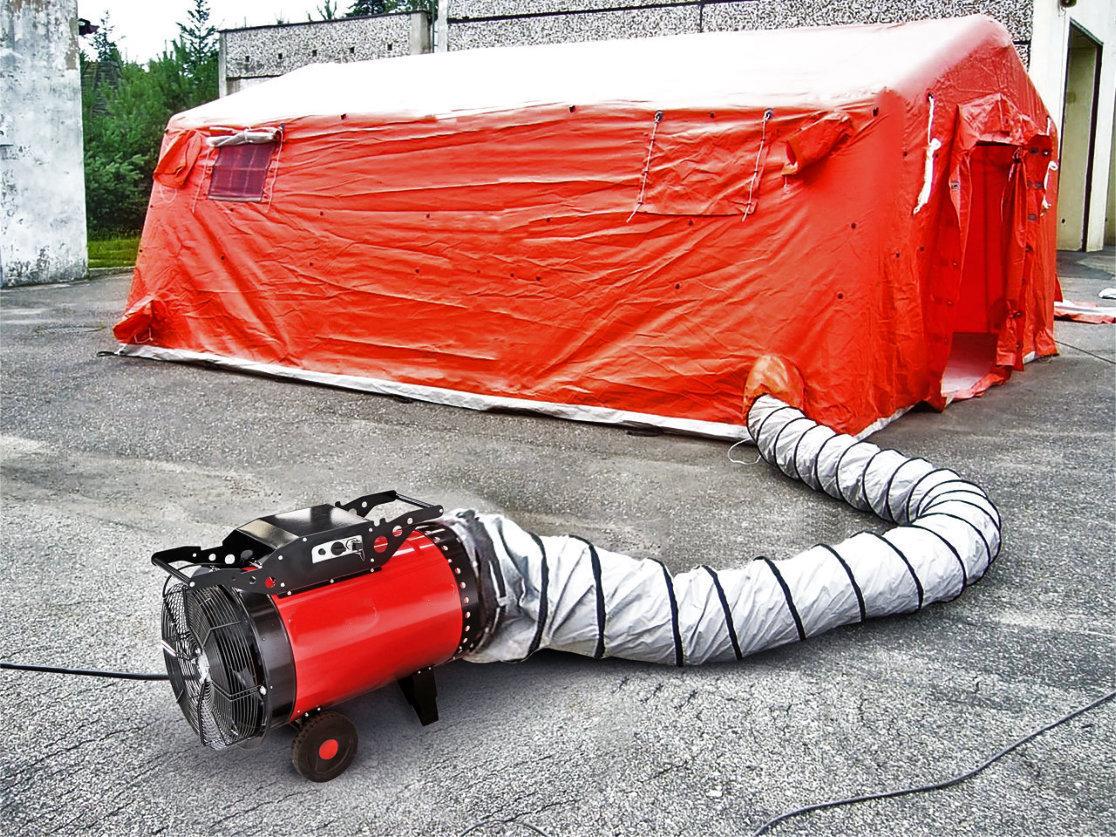 stufa elettrica Stufy c22 con canalizzazione